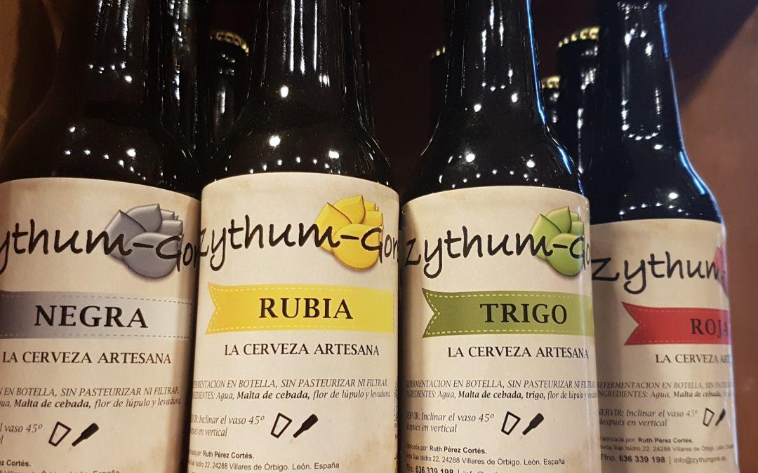 Cervezas de León, espuma en La Vianda