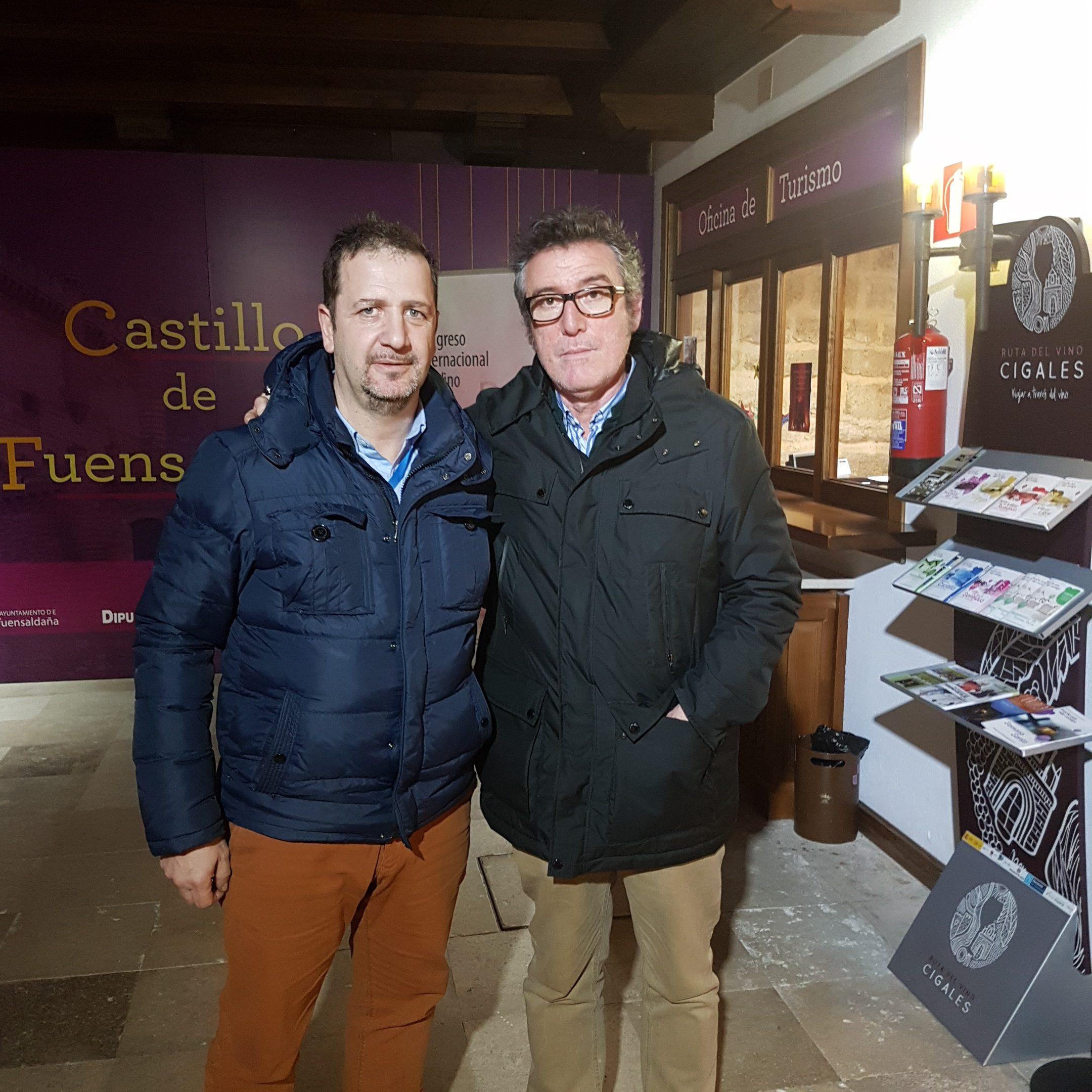 Con Ignacio de Bodega César Príncipe...