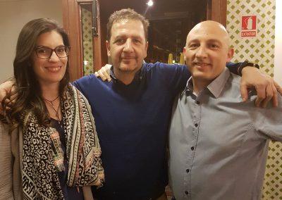 Con Maxi y Laura