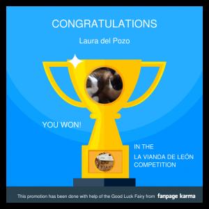 Ganadora Concurso